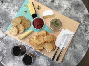 Winter BVCC cheese board